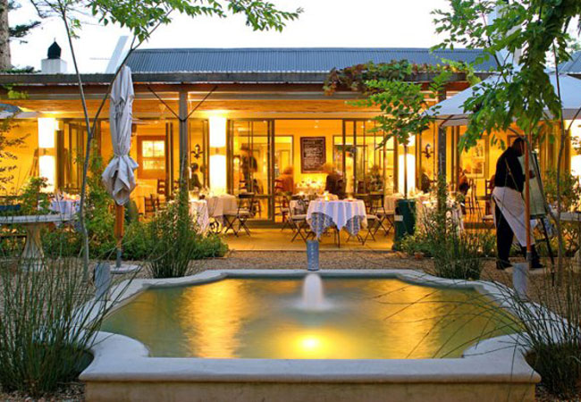 La Colombe Restaurant Cape Town South Africa