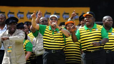 President Zuma sings and dance